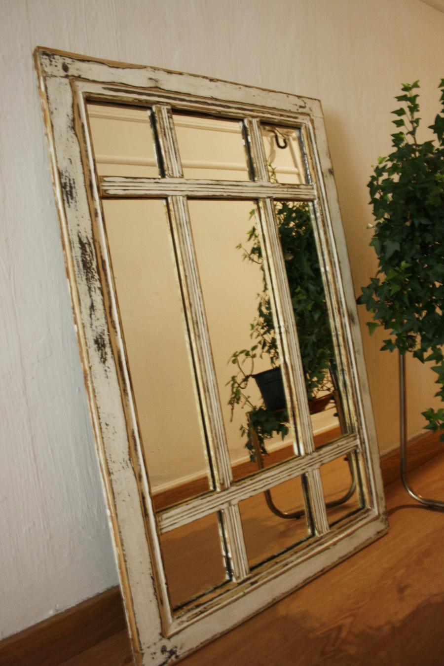 Ventana envejecida espejo | By Cousiñas